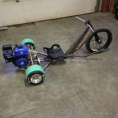 Drift trike - day 2 fabrication