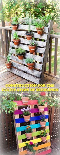 Small garden design - Best Home Decorating Ideas - Easy Interior Design and Decor Tips Pallet Projects Diy Garden, Diy Garden Projects, Terrace Design, Patio Design, Design Design, Small Gardens, Outdoor Gardens, Potager Bio, Interior Garden