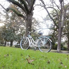 Pedaling around in December…the weather is awesome this time of year to explore by bike!