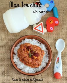 Mon 1er chili dès 8/9 mois Baby Food Recipes, Fall Recipes, Baby Cooking, Tasty, Yummy Food, Smoothie Bowl, Plant Based Recipes, Food Videos, Kids Meals