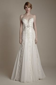 A Fairy Tale Wedding Dress Collection Inspired By Russian Aristocratic Style, via Flickr.