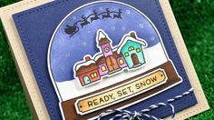 Intro to Ready, Set, Snow + a card from start to finish