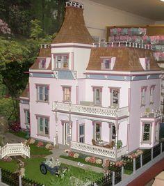 Goffstown Dollhouse Kit - $522.00 : Miniature Dollhouses & Doll House Supplies | Earth & Tree Miniatures & Dollhouses