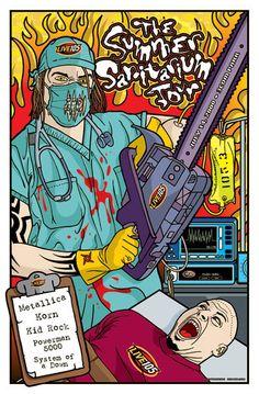 metallica gig poster - Google-haku