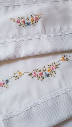 Basic Embroidery Stitches, Floral Embroidery Patterns, Hand Embroidery Videos, Hand Embroidery Tutorial, Baby Embroidery, Embroidery Flowers Pattern, Simple Embroidery, Sewing Stitches, Hand Embroidery Designs