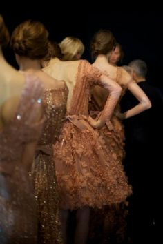 Elie Saab ~ Beautiful colors and textures. Amazing photo!