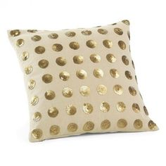 West Elm offers modern furniture and home decor featuring inspiring designs and colors. Create a stylish space with home accessories from West Elm. Cute Pillows, Throw Pillows, Furniture Decor, Modern Furniture, Sequin Pillow, Pillow Fight, Pillow Talk, Gold Polka Dots, Vintage Pillows