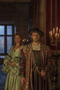 Álvaro Cervantes y Blanca Suárez, protagonistas de 'Carlos, Rey,Emperador'. Se casan Carlos V e Isabel de Portugal y se enamoran.