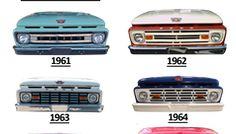 Ride Guides: A Quick Guide to Identifying 1961-66 Ford Pickups