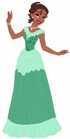 Princess+Tiana's+Beautiful+Dress+by+unicornsmile.deviantart.com+on+@DeviantArt