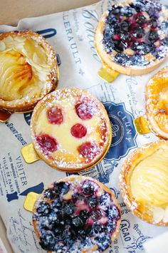 Scenes from my week Easy Pie Recipes, Dessert Recipes, Fruit Tartlets, Savory Tart, Sugar And Spice, High Tea, Just Desserts, Eat Cake, Fruit Creations
