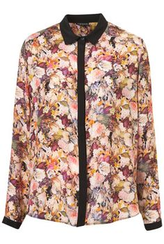 Longsleeve Floral Shirt - New In This Week - New In - Topshop Looks Style, My Style, Winter Wardrobe, Fashion Advice, Celebrity Style, Topshop, Fashion Looks, Nordstrom, Shirt Dress