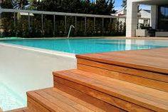 Resultado de imagem para piscinas elevadas obra