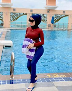 Hijab Jeans, Hijab Chic, Hottest Pic, Asian Beauty, Muslim, My Girl, Booty, Photo And Video, Lady