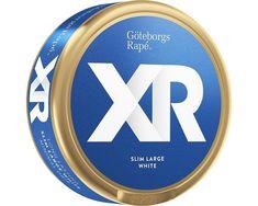 Snus XR Göteborgs Rapé Portion Can White Sweden Chew Cut cans as Sweden, Rap, Slim, Products, Wraps, Rap Music, Gadget