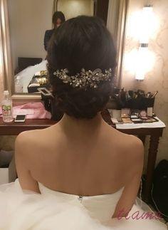 感動のファーストミートから始まる美人花嫁さまの素敵な一日♡   大人可愛いブライダルヘアメイク 『tiamo』 の結婚カタログ