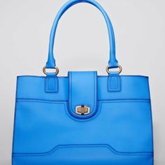 Beautiful blue bag!