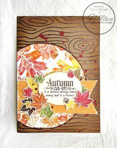 Autumn Themed card - Scrapbook.com