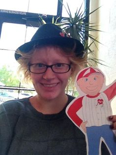 Flat Bob is on the loose in Salt Lake City...raising awareness of Long QT and other SADS conditions.  You can help!  www.StopSADS.org/flat-bob