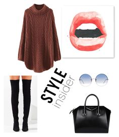 """""""Style indider."""" by madynd on Polyvore featuring mode, WithChic, Jeffrey Campbell, Givenchy et Linda Farrow"""