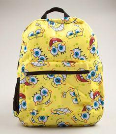 SpongeBob Face All Over Print Backpack
