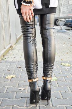 #modadamska #fashion #style #black #heels #szpilki