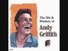 The Wit and Wisdom Of Andy Griffith - Romeo And Juliet - a story of a boy and girl who were in love of one another. . . .