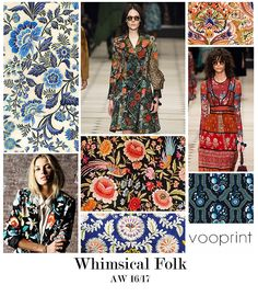 AW 16/17: Vootrend - Whimsical Folk