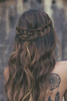 Wedding Hair: Braids