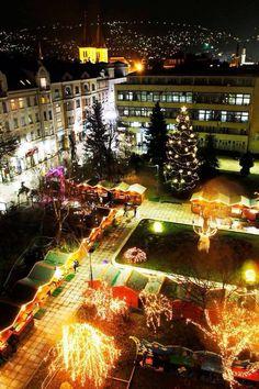 Christmas market Sarajevo