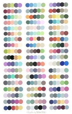For you artists out there, just one of the many free palette sheets I found~ :) source: Kawiku @ DA #art