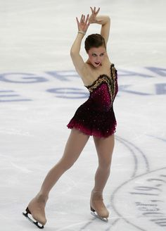 Ashley Wagner Photos Photos - Ashley Wagner of USA competes in the Ladies Free Skating during of the ISU Grand Prix of Figure Skating 2010/2011 Cup of Russia at Megasport Sport Palace on November 20, 2010 in Moscow, Russia. - ISU Grand Prix of Figure Skating 2010/2011 Cup of Russia