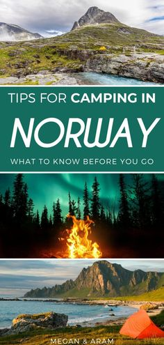 Camping Guide, Go Camping, Norway Camping, Capital Of Norway, Norway Travel Guide, Norway Nature, Wild Camp, Tromso, Lofoten