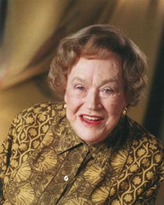 She was complex simplicity.  She was straightforward, generous, and, yes, served in the OSS, the CIA forerunner, during WWII.