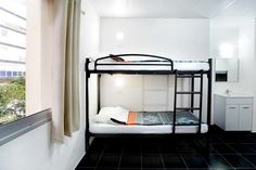 You'll enjoy the comfy mattresses and the spacious shared bathrooms