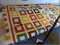 Wedding signature quilt...squares in wedding colors? Some blocks for photos?