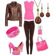 Chocolate & pink