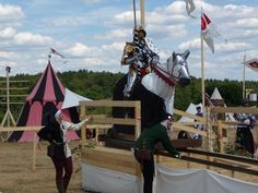 get ready for joust...