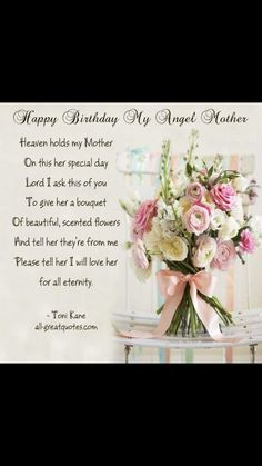 New Quotes Birthday Mom Miss You Ideas Mom Birthday Quotes, Birthday Wishes For Boyfriend, Best Birthday Wishes, Birthday Cards, New Quotes, Happy Quotes, Loss Quotes, Family Quotes, Inspirational Quotes