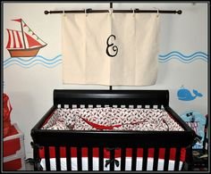 CUSTOM Pirate Sail — Personalized with Initial | Geek-a-bye Baby $45