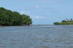Imagine um lugar com todos esses momentos inesquecíveis, belíssimos rios, cercado de muita natureza intacta, com belos coqueirais, manguezais, pássaros, capivaras, praias de águas mornas e o encontro do rio com o mar em um cenário cinematográfico.