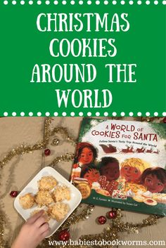 Follow Santa on his journey around the world with this fun new Christmas book! Try tasty treats in different countries and learn about new traditions. #ChristmasBooks #ReadAloud #HolidayBaking