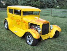 1929 Ford Tudor Chopped Street Rod
