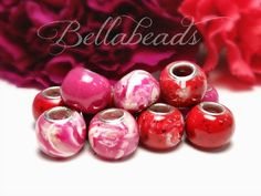 Individual round {custom} pandora beads. Each bead tells a story, containing flower petals and/or ashes. What a great gift to help provide healing or to help those remember an awesome day!!