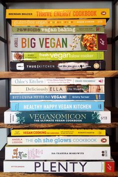 6 Best Vegan Cookbooks to Add to Your Collection.