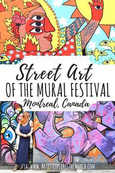 MURAL – Montreal's Street Art Festival – Artist Explores the World