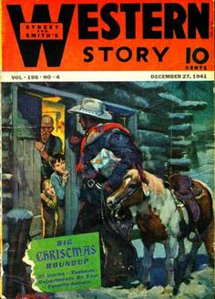 Rough Edges: Saturday Morning Western Pulp: Western Story, Dece...