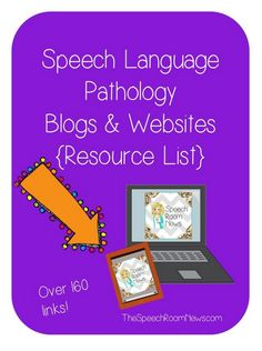 I'm so excited to share another Resource List with you! The following is a gathering of over 150 SLP blogs/websites. You can use this list several ways: Click on links to check out NEW resources. R...