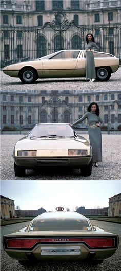 Citroen Camargue (Bertone), 1972 – Photos: Rainer W. Schlegelmilch - Find the best free Car Wallpapers Auto Design, Weird Cars, Cool Cars, Lamborghini, Ferrari, Citroen Concept, Volvo, Psa Peugeot Citroen, Best Classic Cars