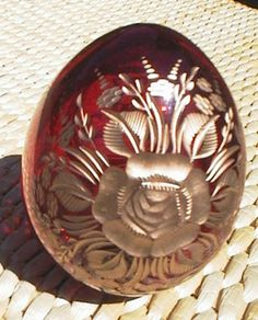 Rodina Russian Folk Art - Decorative Eggs, Faberge Style Glass Eggs